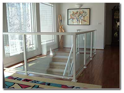 Marvelous ... Interior Glass Railing