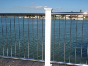 Stainless Steel Top&Bottom Rail With Vertical Balusters (SS-TB-V)