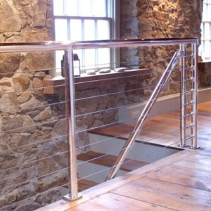 Nautical Deck Railing http://bayareacontractor.com/products/railings-stainless-steel-cable/
